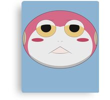 Gamatama Toad Canvas Print