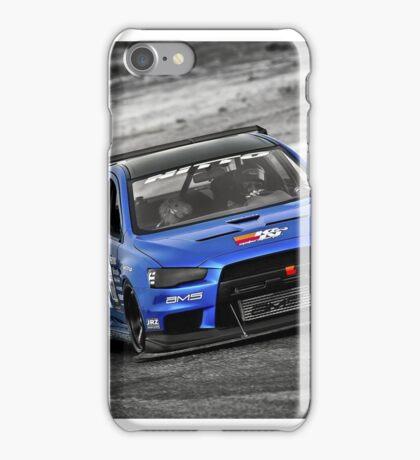 Blue Evo 10 iPhone Case/Skin