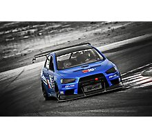Blue Evo 10 Photographic Print