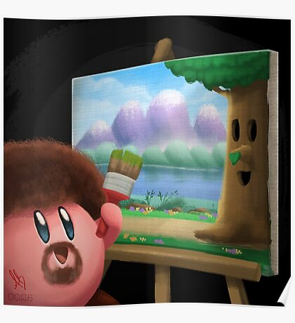 0025 - Happy Little Tree Poster