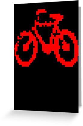 1 bit pixel bike (red) by Pekka Nikrus