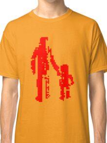 1 bit pixel pedestrians (red) Classic T-Shirt