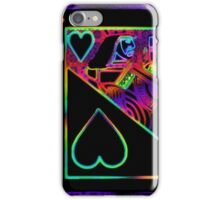 Double Neon Jack of Hearts iPhone Case/Skin