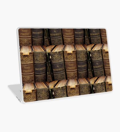 Vintage Books  Laptop Skin