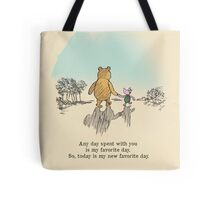 I love being with you Tote Bag