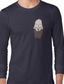 Akamaru in your pocket! Long Sleeve T-Shirt
