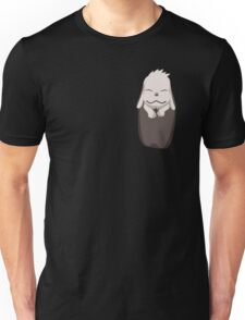 Akamaru in your pocket! Unisex T-Shirt