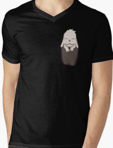 Akamaru in your pocket! Mens V-Neck T-Shirt