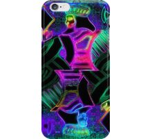Double Neon King of Diamonds iPhone Case/Skin