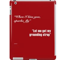 Sparks Fly - Engineers in Love iPad Case/Skin
