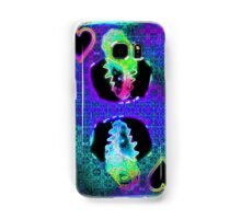 Double Neon King of Hearts Samsung Galaxy Case/Skin