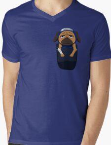 Pakkun in your pocket! Mens V-Neck T-Shirt