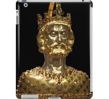 Mask reliquary of Charlemagne, located at Cathedral Treasury in Aachen iPad Case/Skin