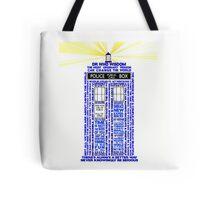 Wisdom of Doctor Who-TARDIS  Tote Bag