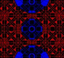 Vector Pattern Backside  Sticker