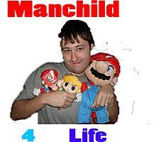 Manchild 4 Life Photographic Print