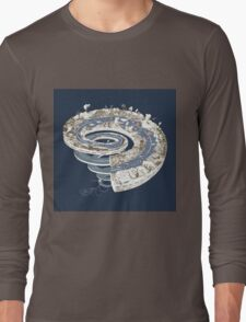 Geologic Period Timeline Long Sleeve T-Shirt