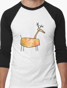 Poro the Reindeer Men's Baseball ¾ T-Shirt