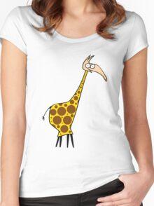 Miss Huraffe Women's Fitted Scoop T-Shirt