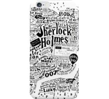 London Words iPhone Case/Skin