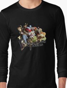 SALUT LES GEEKS Long Sleeve T-Shirt