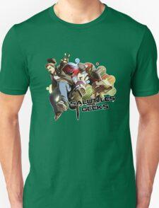 SALUT LES GEEKS Unisex T-Shirt