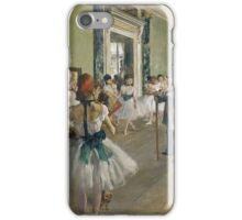 EDGAR DEGAS  - THE DANCING LESSON,  iPhone Case/Skin