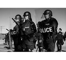police Photographic Print