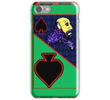 Solarized Jack of Spades iPhone Case/Skin
