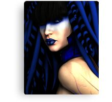Blue by V. Nicharico Canvas Print