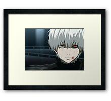 Kaneki Ken Tokyo Ghoul Framed Print