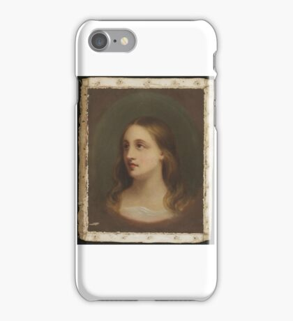 Edward D.E. Greene, American (Boston, MA  New York, NY) Title A Red-Haired Woman iPhone Case/Skin