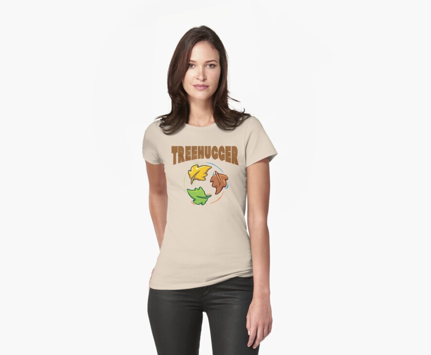 """Earth Day """"Treehugger"""" by HolidayT-Shirts"""