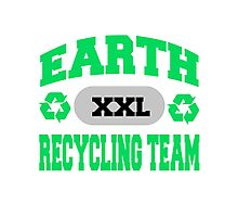 Earth Day Recycling Team Photographic Print