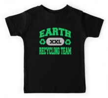 Earth Day Recycling Team Kids Tee