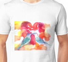 LOVE BIRDS Unisex T-Shirt