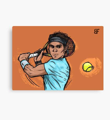 King of clay Canvas Print