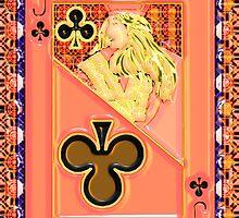 Art Gloss Jack of Clubs by ronmockjunior