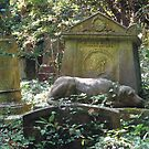 Highgate Cemetery the Chief Mourner by himmstudios