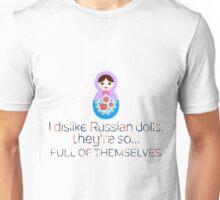 Russian Doll Pun Unisex T-Shirt