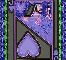 Art Gloss Jack of Hearts by ronmockjunior