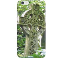 Highgate Cemetery Celtic Cross iPhone Case/Skin
