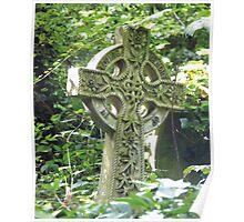 Highgate Cemetery Celtic Cross Poster