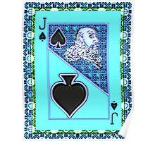 Art Gloss Jack of Spades Poster