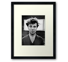 Charlie Chaplin - Photo Framed Print