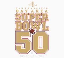 Super Bowl 50  One Piece - Short Sleeve