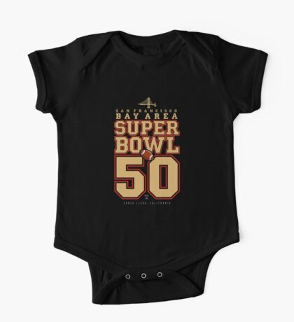 Super Bowl 50  One Piece - Short Sleeve