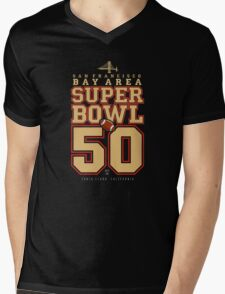Super Bowl 50  Mens V-Neck T-Shirt