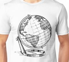 World Globe Unisex T-Shirt