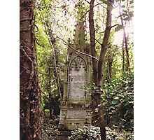 Highgate Cemetery Mears Memorial Photographic Print